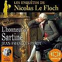 L'honneur de Sartine (Les enquêtes de Nicolas Le Floch 9) Audiobook by Jean-François Parot Narrated by François d'Aubigny