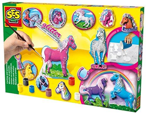 ses-01155-loisir-creatif-kit-de-creation-mouler-et-peindre-12-chevaux