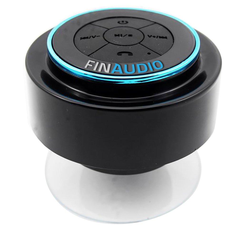 Ipx7 bluetooth shower speaker lifetime guarantee for Best bathroom speakers