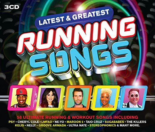 Latest & Greatest Running Songs (3 CD)