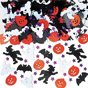 Amscan International Confetti Bright Halloween Night