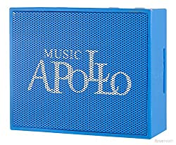 Generic Bluetooth Speaker Apollo S7 Blue Portable Mini Bluetooth Speaker Works for Ipad, Iphone, Samsung, Huawei and Other Music Players