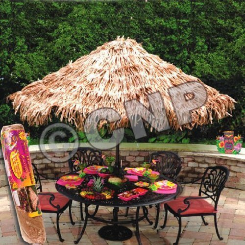 RAFFIA LIKE UMBRELLA COVER