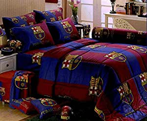 barcelona football club official licensed bed