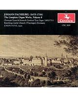 Pachelbel - Complete Organ Works Vol. 8