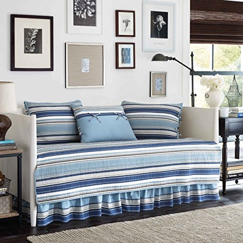 Stone Cottage Fresno 5-Piece Daybed Quilt Set, Blue