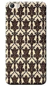Fashionury High Quality Printed Designer Back Case Cover For Vivo Y55