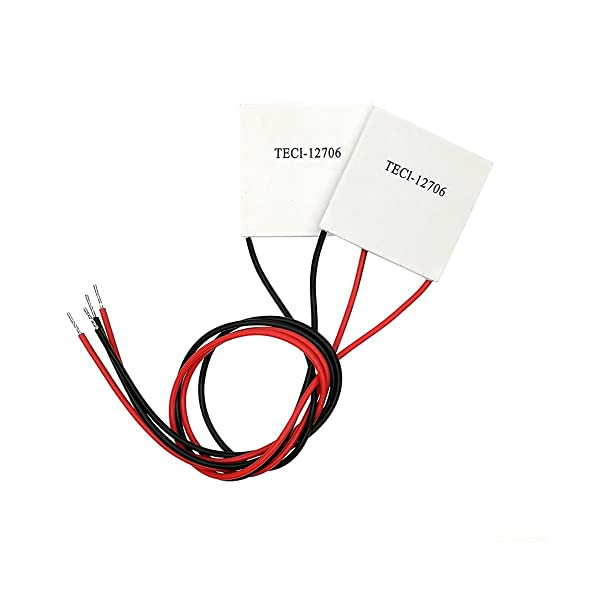 Antrader TEC1-12706 Thermoelectric Peltier Cooler Heatsink Plate Module 12V 60W 92Wmax 2pcs