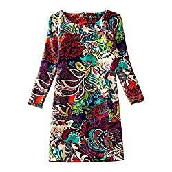 Cozer Creation Floral Printed western wear Red Dress Material