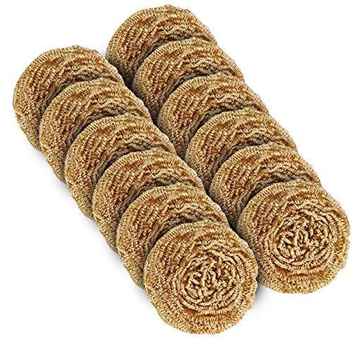 MR. SIGA Copper Mesh Wire Scourer,Pack of 12,30g (Copper Scrubber Pads compare prices)
