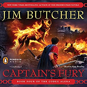 Captain's Fury: Codex Alera, Book 4 by Jim Butcher