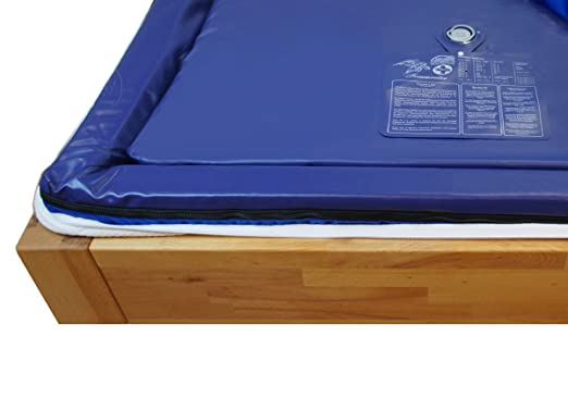 Zwei Wassermatratzen 180x200 cm dual MESAMOLL 2 Wasserkern-Matratzen Wasserbett-Matratze fur 180x200 cm Softside Wasserbetten (100% = 0 Sek.)
