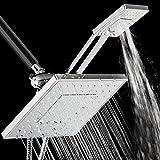 AKDY® 125 Nozzles 3-way Overhead Rainfall / Multi-Function...