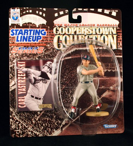 CARL YASTRZEMSKI / BOSTON RED SOX 1997 MLB Cooperstown Collection Starting Lineup Action Figure & Exclusive Trading Card - 1