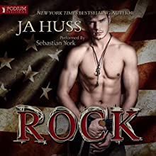 Rock: A Rock Star Romantic Suspense Audiobook by JA Huss Narrated by Sebastian York