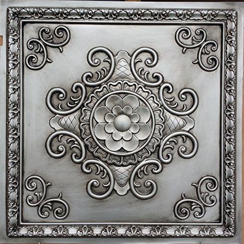 pl08-faux-dose-antik-silber-deckenleuchte-fliesen-3d-relief-cafe-pub-shop-art-dekoration-wand-paneel
