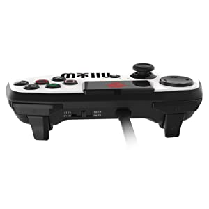 Mad Catz Street Fighter V FightPad PRO for PlayStation4 and PlayStation3 - White (Color: White)