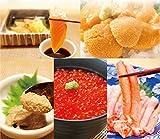 【冷凍】海鮮 福袋 詰め合せ 5種 セット イクラ 醤油漬け・生うに・炙りサーモン・カニみそ・かにむき身