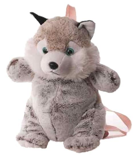 Inware 6840 - Petit Sac à dos pour les enfants, Husky, beige/gris