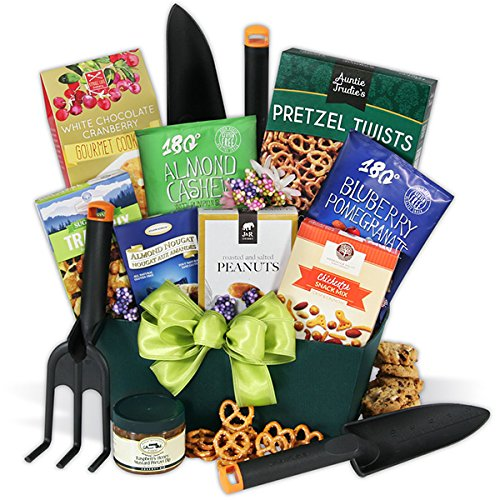 Gardening gift basket home lawn tools trowels for Gardening tools gift basket