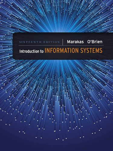 Download Introduction to Information Systems - Loose Leaf, 16th edition
