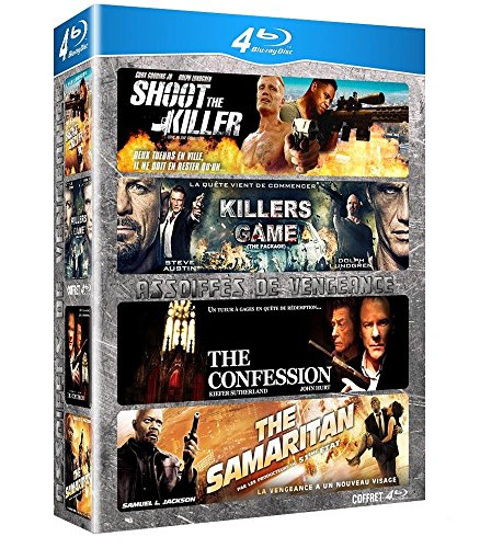 Assoiffes De Vengeance : The Samaritan, Killers Game, Shoot The Killers, The Confession [Blu-ray]