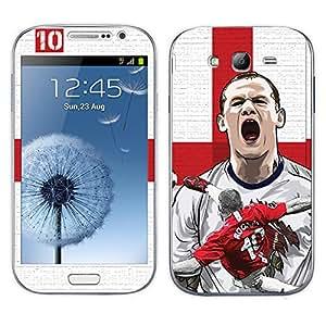 ezyPRNT Samsung Galaxy Grand Duos I9082 Wayne Rooney Football Player mobile skin sticker