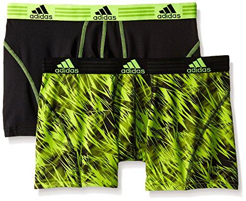 adidas Men's Sport Performance Climalite Trunk Underwear 2Pack