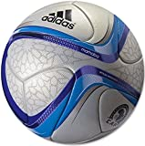 Adidas Marhaba African Cup of Nations Official Match Soccer Ball (Silver, Blue)