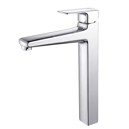 Kraus KEF-15500CH Virtus Single Lever Vessel Bathroom Faucet Chrome