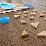 20-Pack-of-Triangle-Bamboo-Magnets-for-Refridgerators-Whiteboards-Offices-or-Calendars