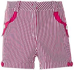 Cutecumber Girls' Shorts (862B24PK_Pink_24)