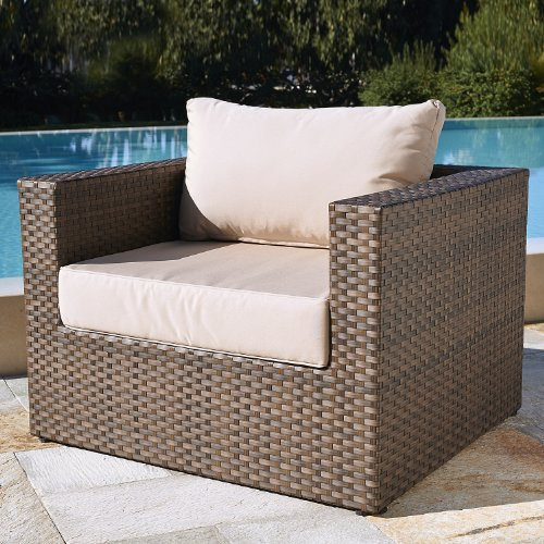 Mission Hills San Clemente Sunbrella 7 Piece Deep Seating Cushioned Patio Set
