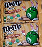 M&Ms White Chocolate Carrot Cake Flavor, Easter Limited Edition (2 9.9oz Packs)