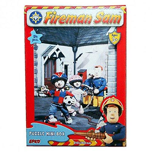 Feuerwehrmann Sam - Mini Puzzle 54 Teile - Motivauswahl, Typ:Puzzle E