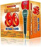 echange, troc Le Meilleur Des Tubes En Karaoké : Les Années 80 Coffret 4 DVD 40 Tubes + 1 Micro