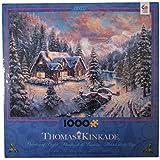 Ceaco Thomas Kinkade - High Country Christmas - Holiday Puzzle (1000 Piece)