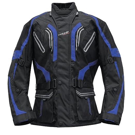 Roleff Racewear 5195 Blouson de Moto Lima Bleu