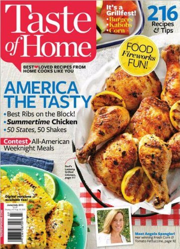 Taste Of Home Magazine (June / July 2013) [Single Issue]
