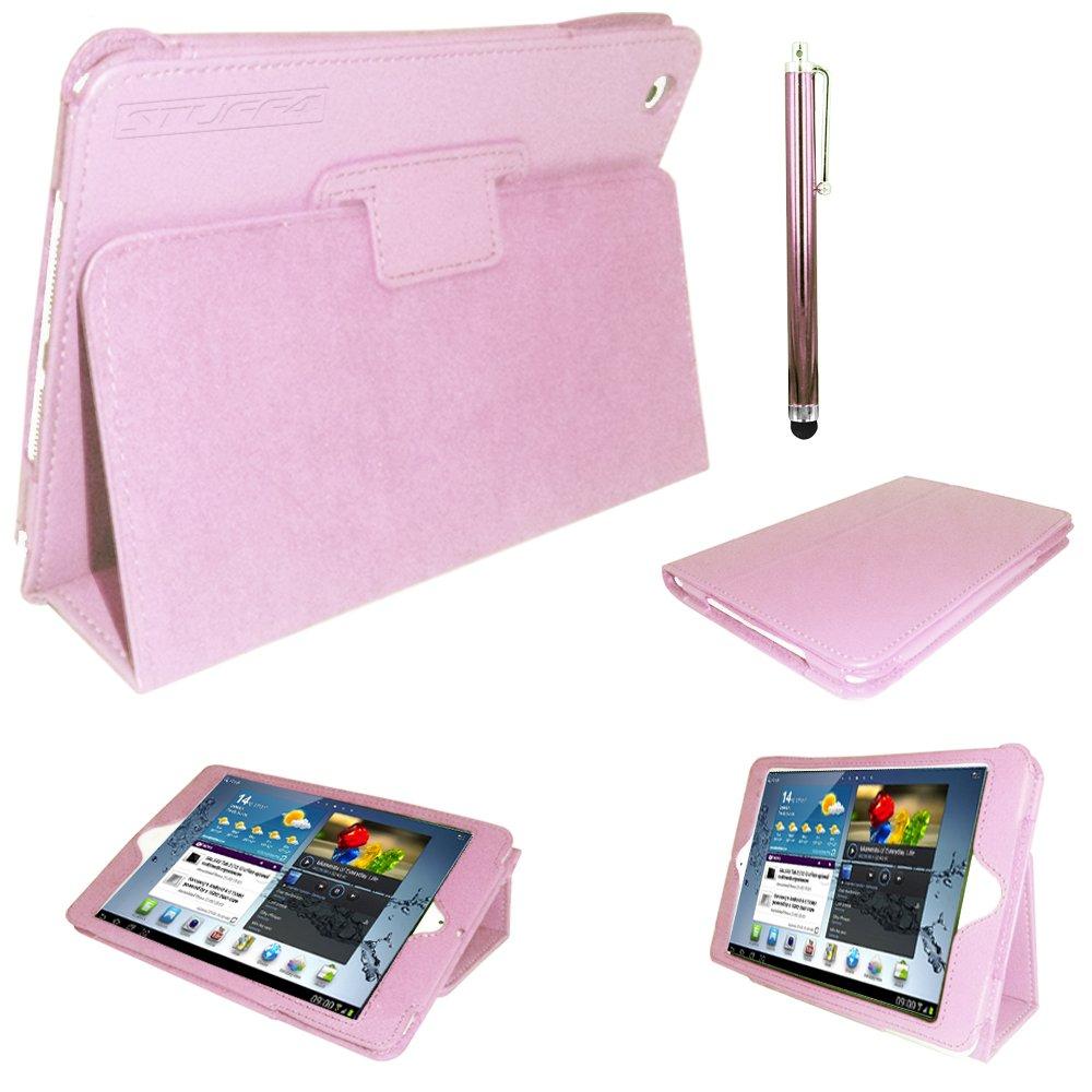 Stuff4 - Funda profesional tipo cartera con función atril para Samsung Galaxy Tab 2 7.0 P3100 y P3110 (piel y PU, cierre magnético) rosa  Informática más noticias y comentarios