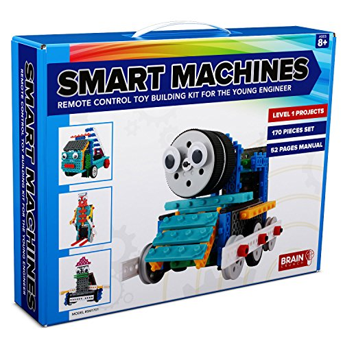 Brain Crunch SM1701 Smart Machines Remote Control Toy Building Set, 14 x 2.8 x 11 -Inch (Robot Brain compare prices)