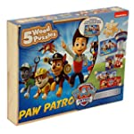 Paw Patrol 5 Wooden Puzzles Box Set