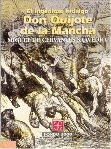 El ingenioso hidalgo don Quijote de la Mancha, 14 (Literatura) (Spanish Edition)