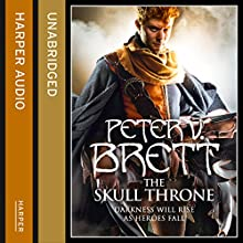 The Skull Throne: The Demon Cycle, Book 4 (       UNABRIDGED) by Peter V. Brett Narrated by Colin Mace