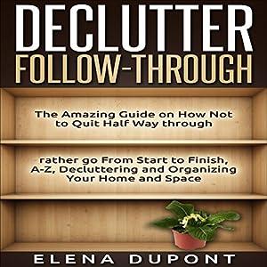Declutter Follow-Through Audiobook