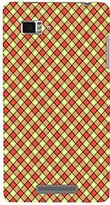 PrintVisa Pattern Checks Design Case Cover for Lenovo Vibe Z K910