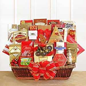 The Corporate Collection Extra Large Deluxe Gourmet Foods Christmas Gift Basket