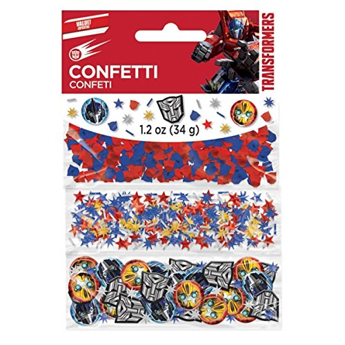 Amscan Transformers Value Pack Party Confetti-Net wt 1.2oz (34g) - 1
