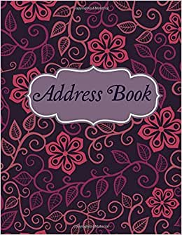 Address Book (Simple And Elegant Address Books) (Volume 45)
