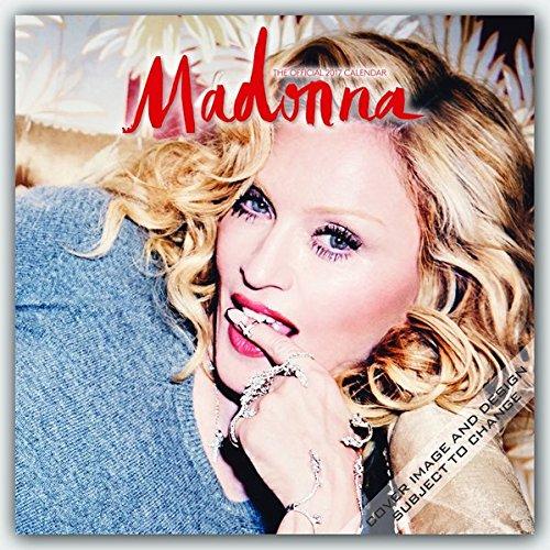 Madonna 2017 - 16-Monatskalender: Original BrownTrout-Kalender (Square Wall)